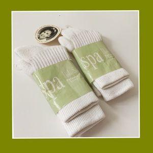 NWT SPA Pedicure Socks Bundle of 2 pairs